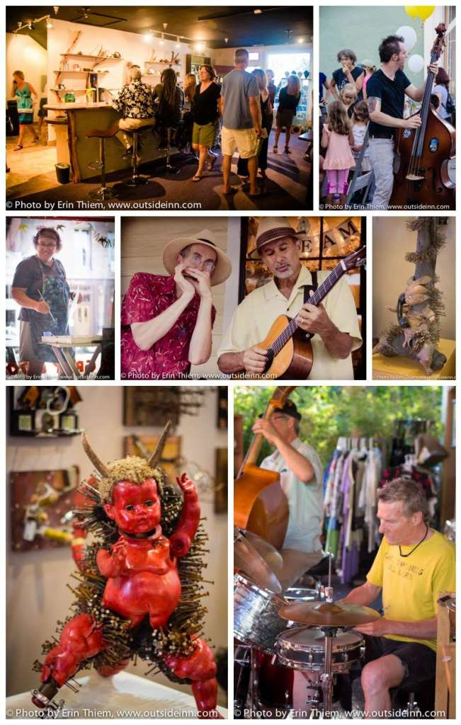 Nevada City First Friday Art Walk photos