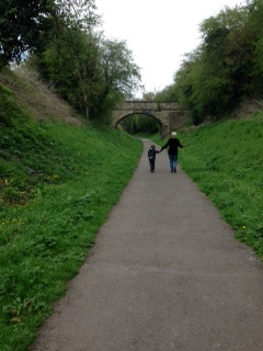 A walk along an old railway line