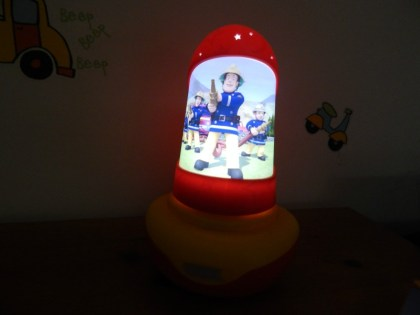 Fireman Sam GoGlow Night Bright Light