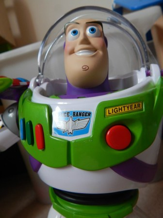 "Toy Story 12"" Action Armour Buzz Lightyear"