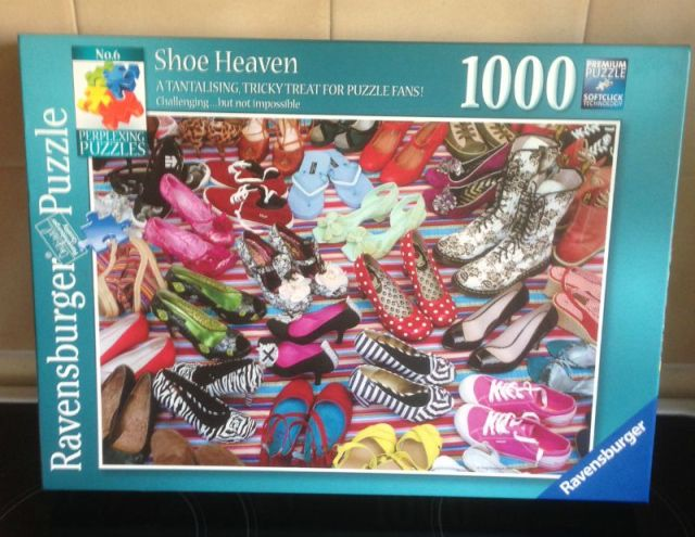 Shoe Heaven 1000 Piece Puzzle
