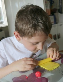 Getting creative with Nutty Putty