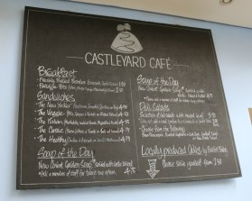 A lunchtime treat at the Castleyard Cafe Oxford