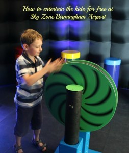 How to entertain the kids for free at Sky Zone Birmingham Airport