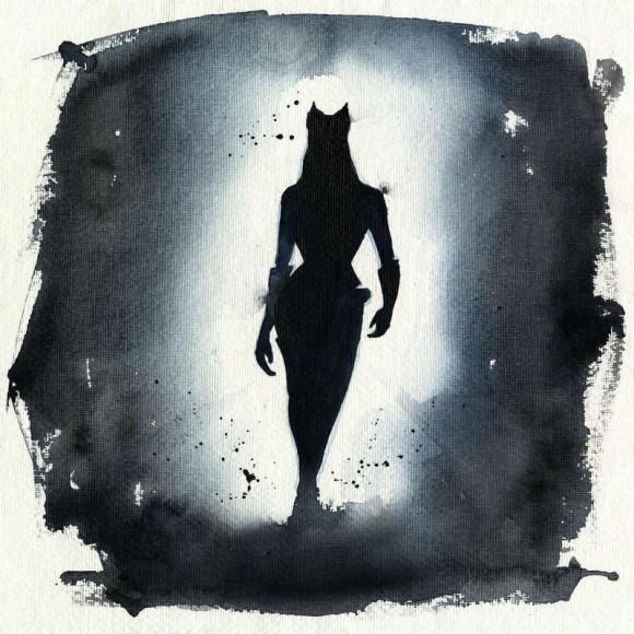 漫威黑豹手绘水彩
