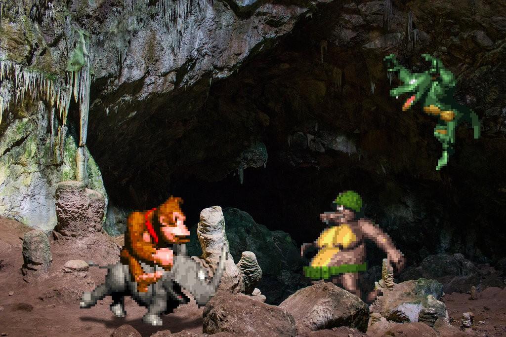 real_bits___donkey_kong_country__caverns_by_victorsauron-d610psu