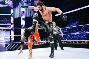 WWE 居然將 Seth Rollins 經典大招 Curb Stomp 列為禁用招式!?