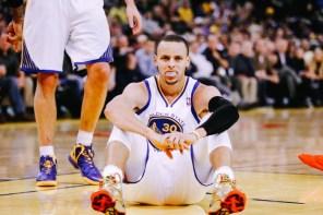 Stephen Curry 曾經太亢奮而在比賽前被送去縫針!