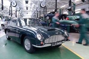 一窺 Aston Martin Works DB5 汽車整修車廠