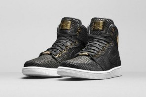 Air Jordan 1 Pinnacle 黑金配色即將發售