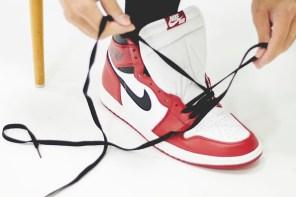 """開箱 / Nike Air Jordan 1 High """"Chicago"""" 2015 讓你親身體驗與 Jordan 一起綁鞋帶的滋味"""