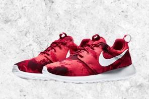 "Nike Roshe Run "" Deep Burgundy "" 全新配色設計"