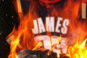 LeBron James。一個燒他球衣球鞋,也無法阻止他奪冠的男人!