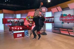 Mr.360 示範如何顏扣才帥!Victor Oladipo 上 ESPN 節目爆扣主持人!