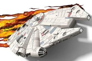 3D LIGHT FX 打造《星際大戰》經典載具千年鷹啟動超空間夜燈!