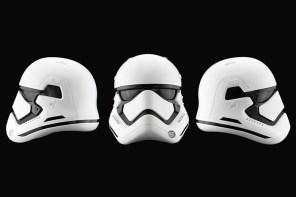 揪團購囉!《星際大戰:原力覺醒》帝國風暴兵同比例複製版頭盔