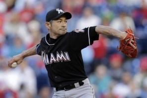一圓大聯盟投手夢,鈴木一朗後援登板投出 88 英哩速球!