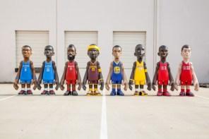 比真人還高!Mindstyle x Cool Rain x NBA 聯名推出 7 英呎高模型