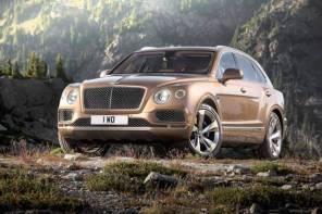 不愧是 Bentley !?Bentley 首款 SUV Bentayga 車頭竟附設自動頭燈清洗器