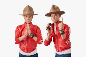 Medicom Toy 高度還原「菲董」Pharrell Williams,經典造型與刺青超擬真!