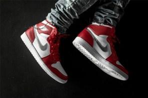 「奧運」主題來襲!上腳近覽 Air Jordan 1 Retro High 全新配色設計!