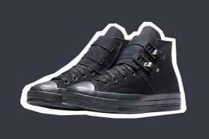這是 Converse?!攜手英國設計師,Chuck Taylor '70  聯乘鞋款軍事進化!