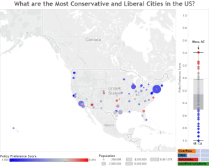 What are the Most Conservative and Liberal Cities in the US