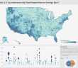 What U.S. Counties have the Most People that are Foreign Born