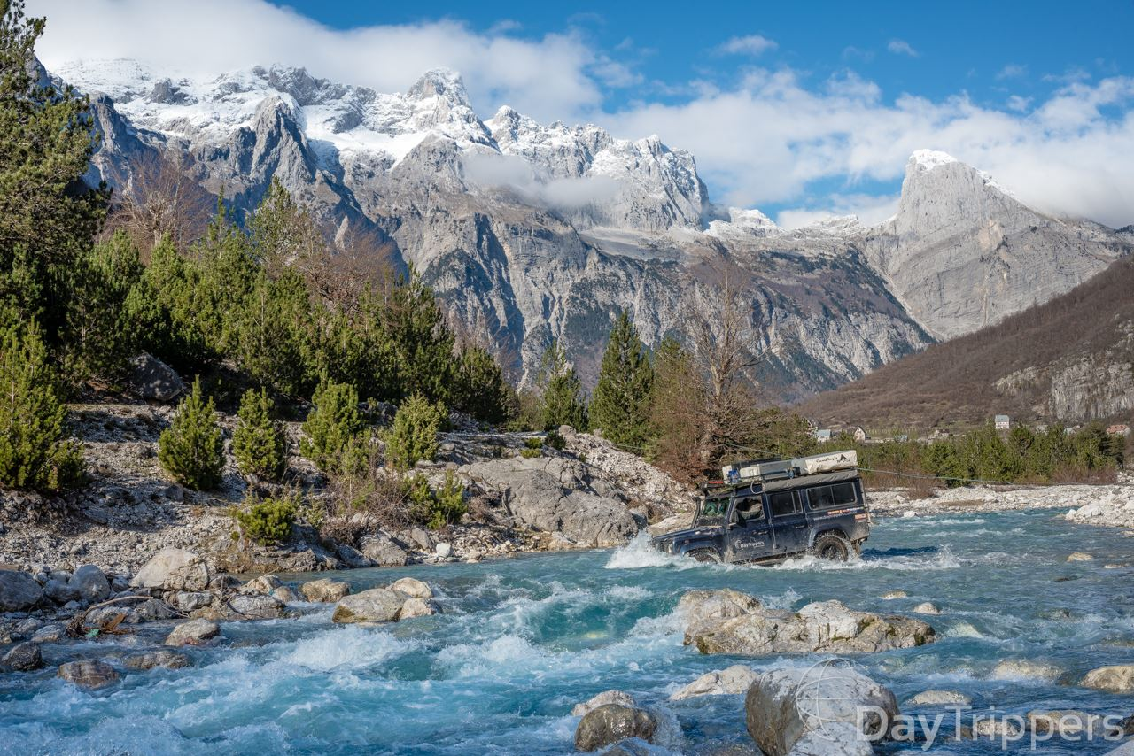 DayTrippers - River Crossing, Albania