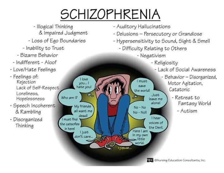 schizophrenia brain disease Schizophrenia is a serious brain disorder that distorts the way a person thinks, acts, expresses emotions, perceives reality, and relates to others people with schizophrenia-- the most chronic and disabling of the major mental illnesses -- often have problems functioning in society, at work, at.
