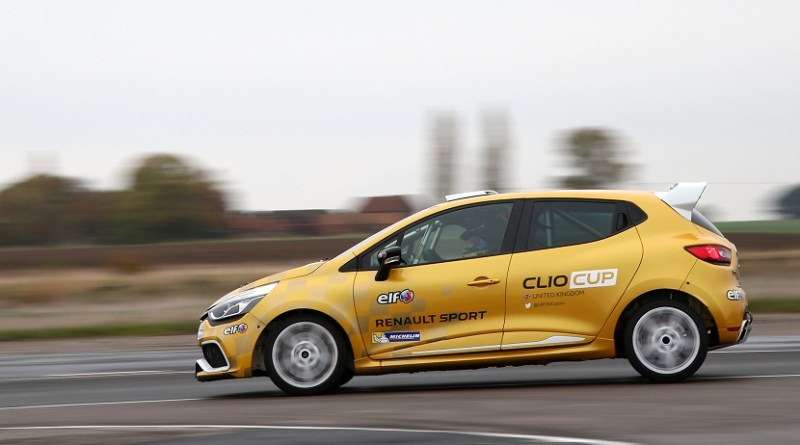 Renault Clio Cup Junior Test Day - Blyton