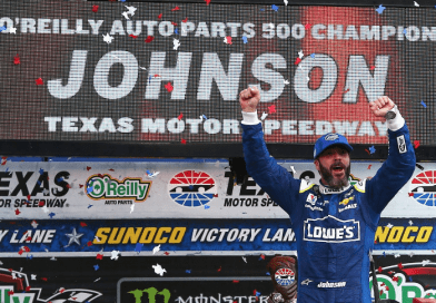 Jimmie Johnson rebounds at Texas, wins O'Reilly Auto Parts 500