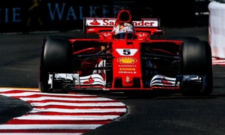 Monaco Ferrari race