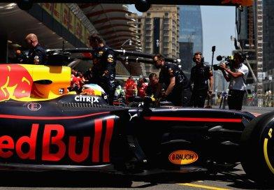 Red Bull Back in Baku Free Practice