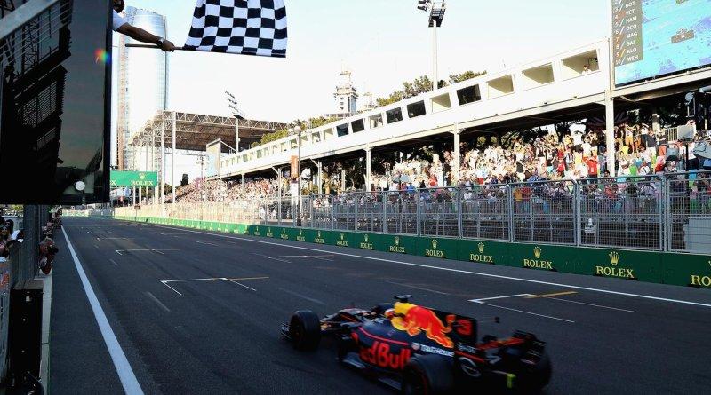 Ricciardo Wins Chaotic Baku Race