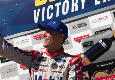 Californian Kevin Harvick breaks through for first win of season at Toyota/Save Mart 350