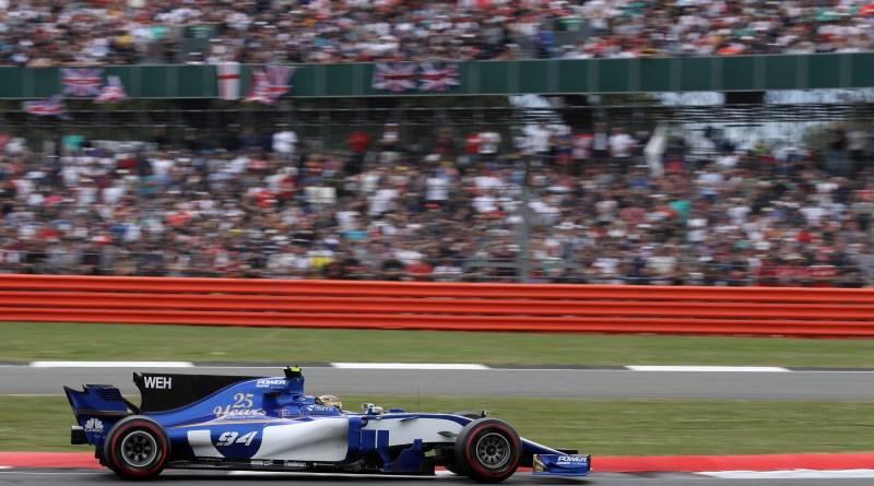 Pascal Wehrlein (D), Sauber F1 Team.  Silverstone Circuit.