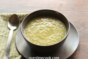 Zucchini and Broccoli Soup