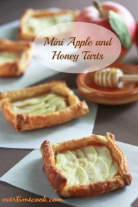 Mini Apple and Honey Tarts and a Rosh Hashanah Blog Party
