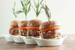mushroom beef sliders 2