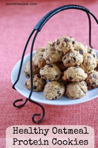 World's Best Healthy Oatmeal Protein Cookies