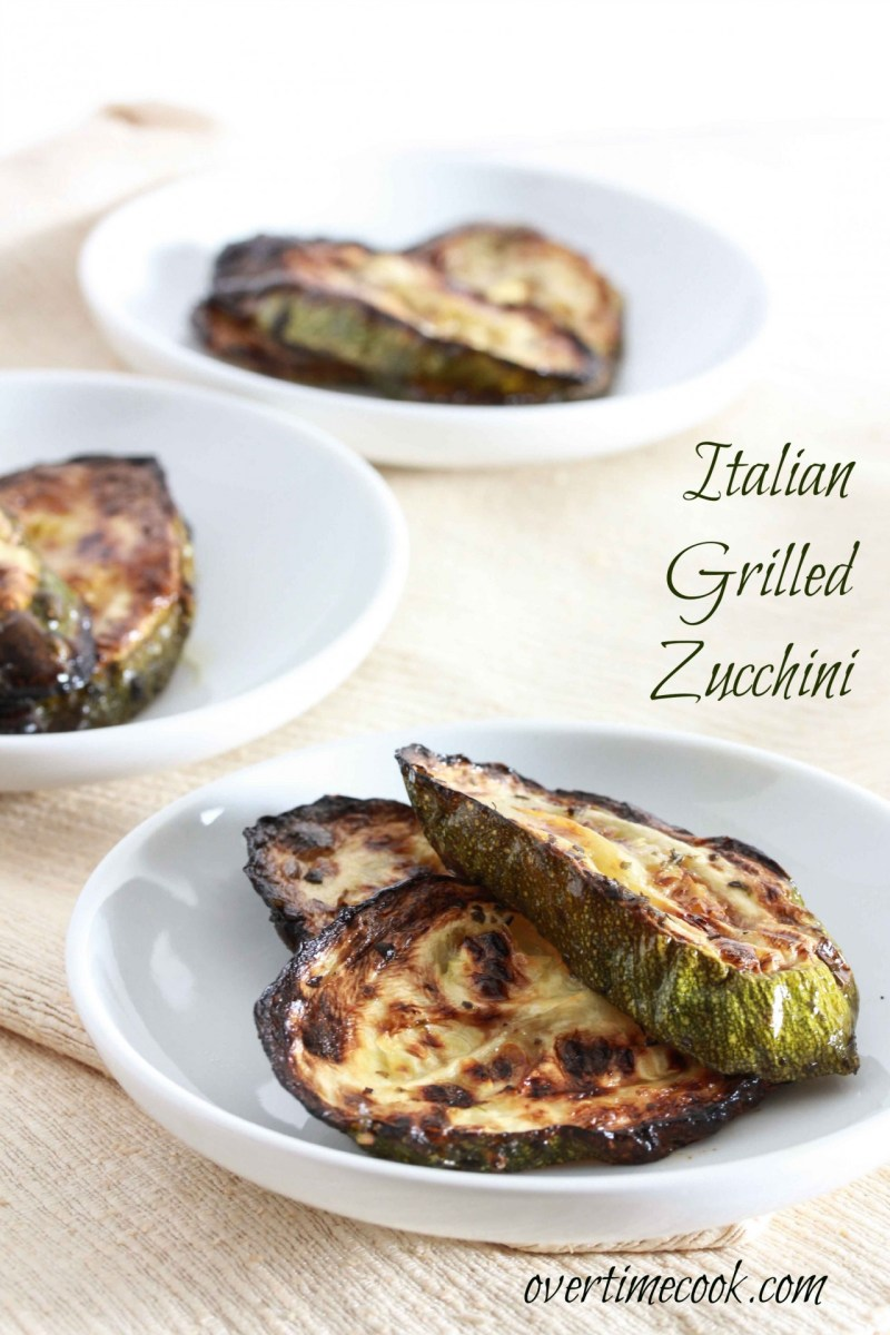 Italian Grilled Zucchini