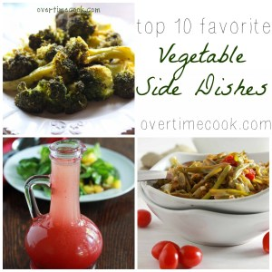 Top Ten Healthy Veggie Dishes