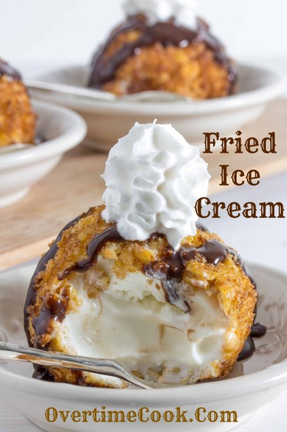 Recipe: Fried Ice Cream | Earthy Chic Boutique