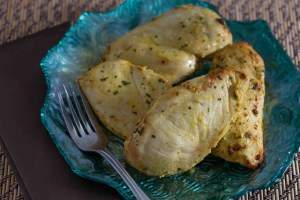 grilled chicken in mustard sauce_