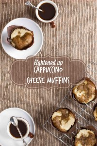 Lightened Up Cappuccino Cheese Muffins