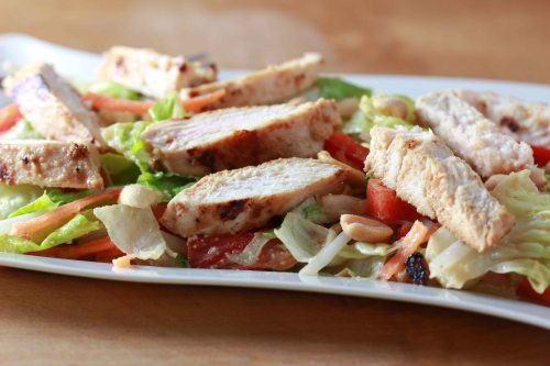 Asian Peanut Chicken Salad 2