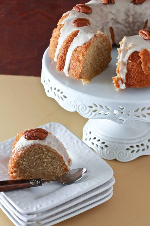 maple sour cream bundt cake 3