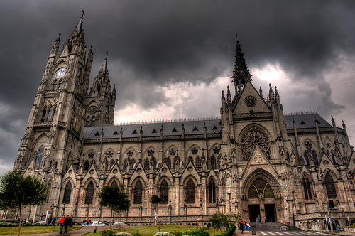 Basilica in Quito