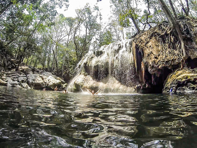 hot springs Finca Paraiso
